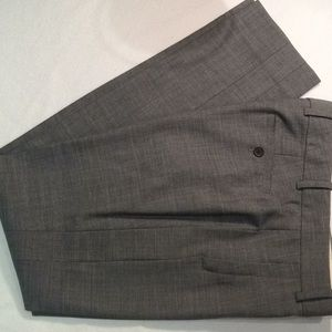 J Crew wool pants, side panel and zippered pockets